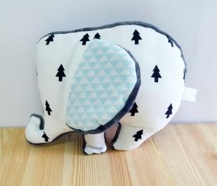 Doudou éléphant garçon