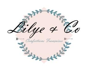 logo lilyeandco theme bleu blog