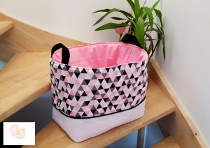 Panier à jouets bébé-enfant- sac à jouet- corbeille de rangement- décoration de chambre bébé et enfant- organisation chambre bébé et enfant-