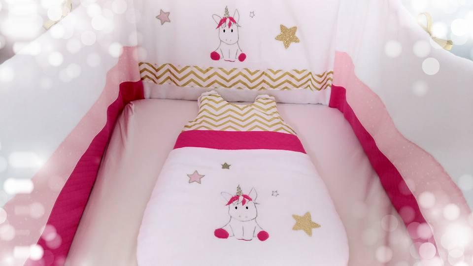 Déco chambre bébé fille licorne